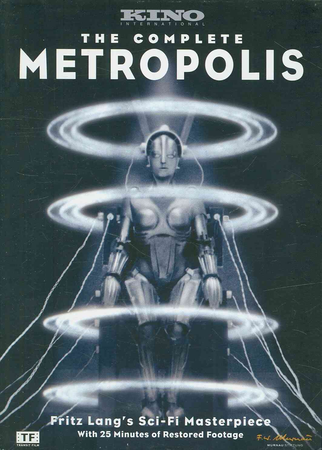 COMPLETE METROPOLIS BY LANG,FRITZ (DVD)